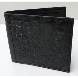 genuine crocodile wallet for men