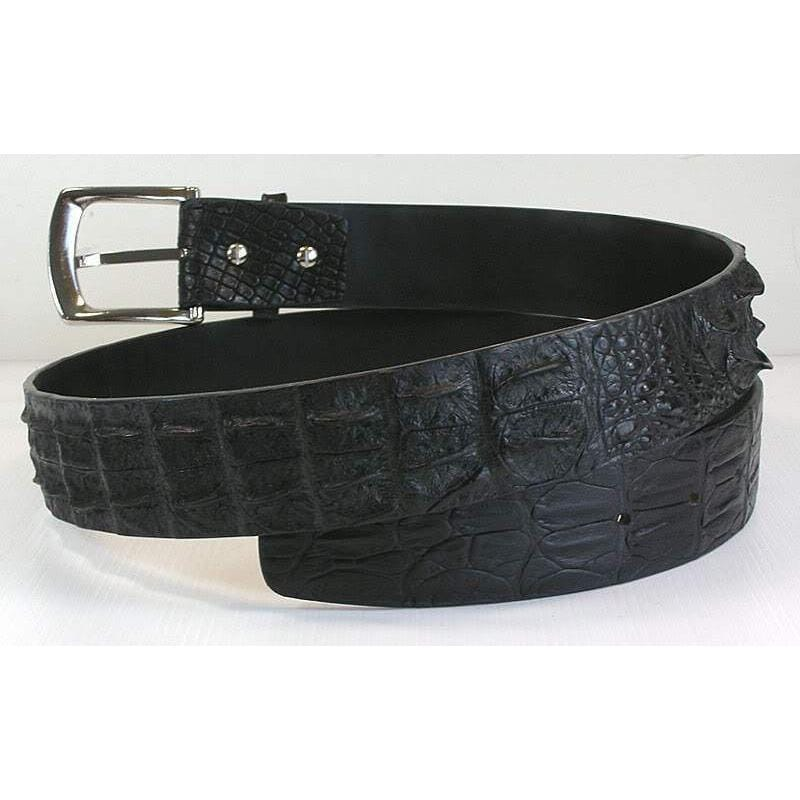 real crocodile skin belt