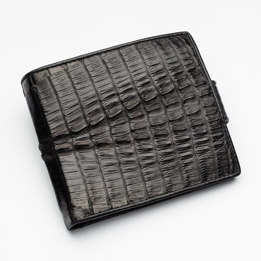 real crocodile skin wallet