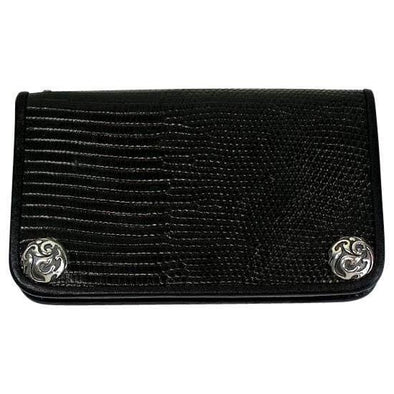 Black Lizard Skin Wallets