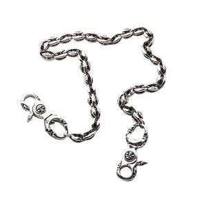 Blosssom 925 Silver Wallet Chain