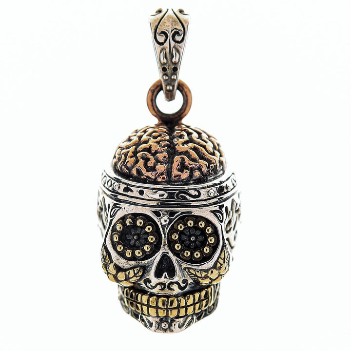 Sugar Skull with Brian Pendant
