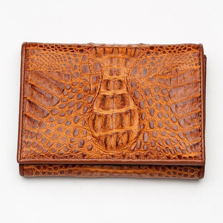 river crocodile women's wallet