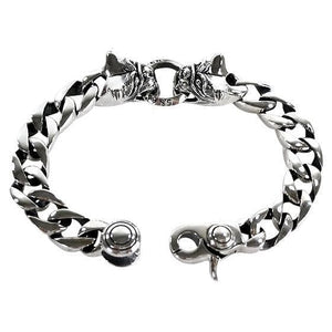 bulldog men's bracelet