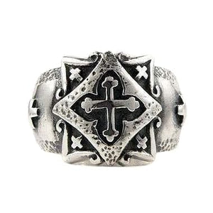 celtic silver band ring