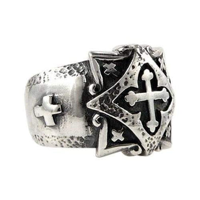 Celtic Cross Ring-Bikerringshop