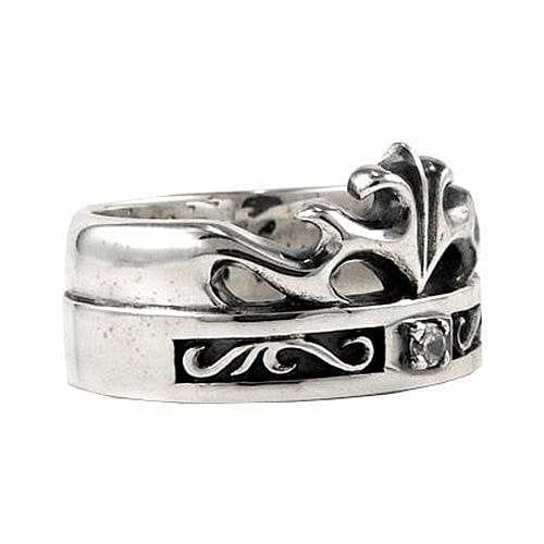 Celtic Crown Rings