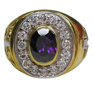 Christian Gold Bishop Ring