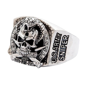 us army sniper ring