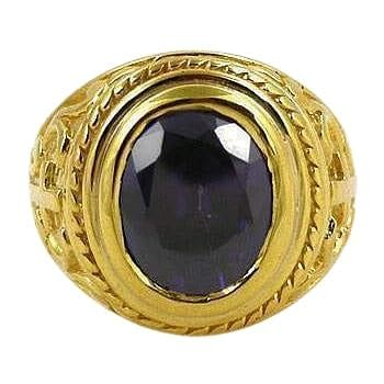 gold holy bishop ring