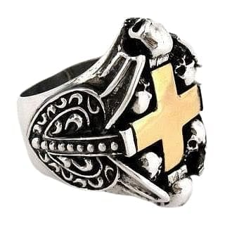 gothic heart ring