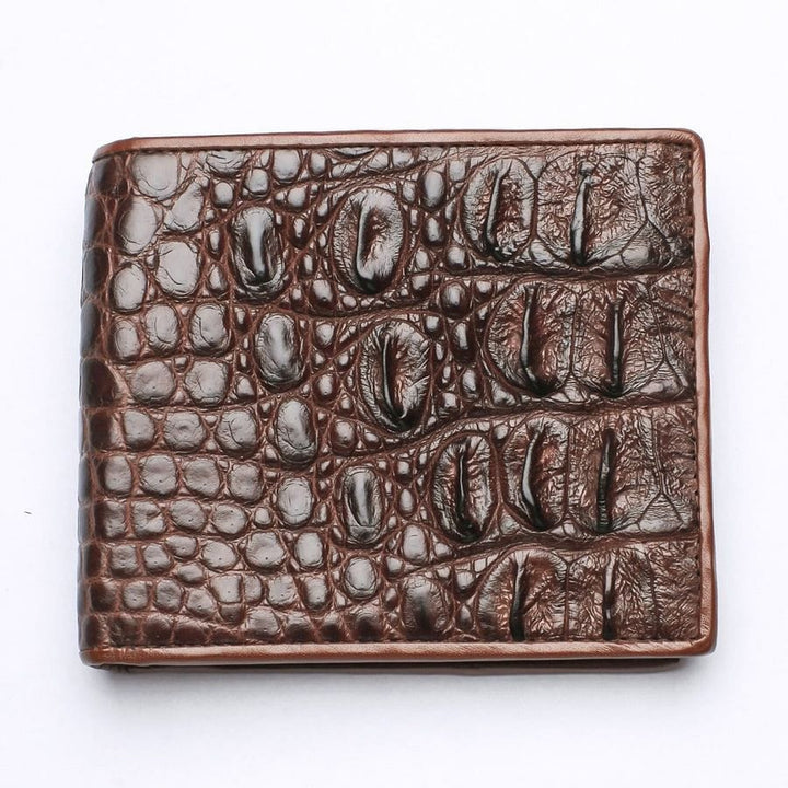 backbone crocodile wallet