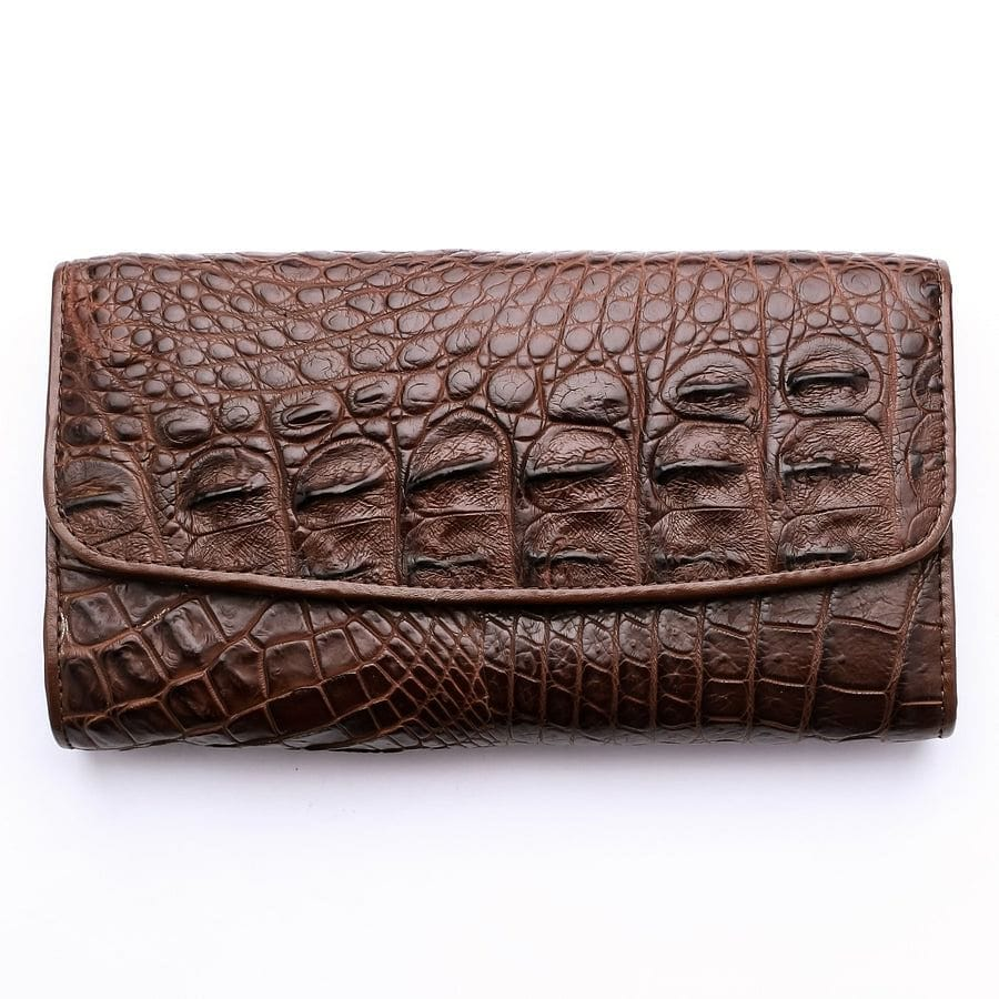 backbone skin crocodile leather ladies wallet