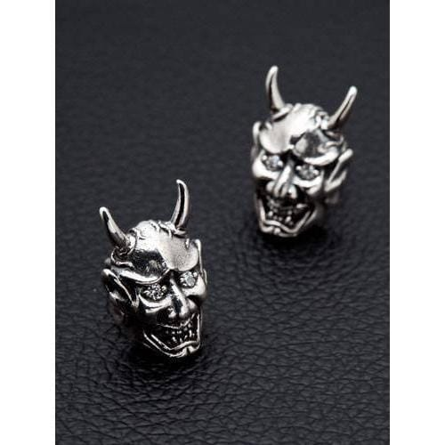 Japanese Demon Earrings