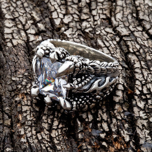 Кольцо Diamond Clear Gothic Claw