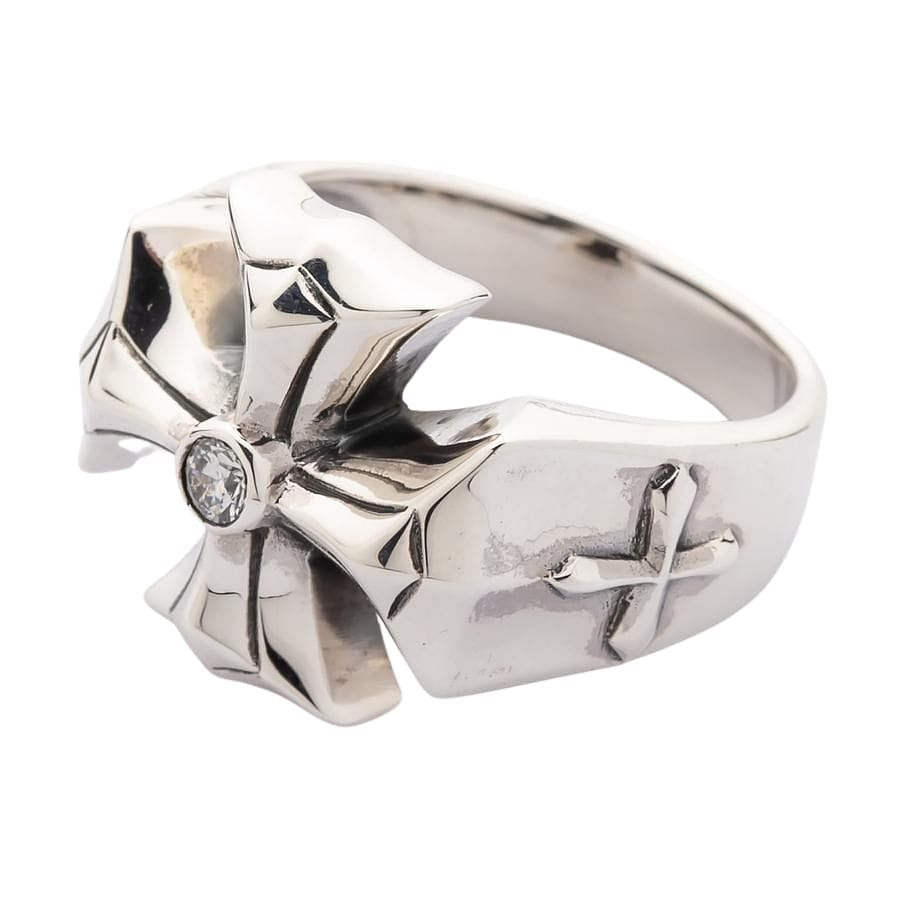 cross rings for men