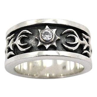 Diamond Tribal Rings