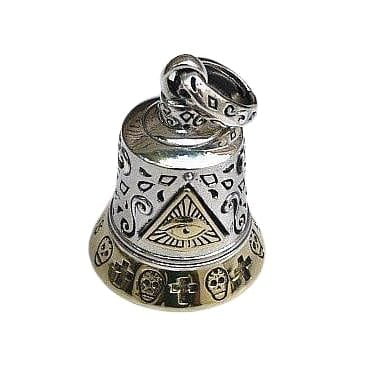 Eye of God Bell Silver Pendant