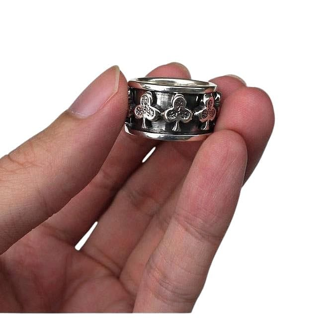 Gambling Club Spinner Ring