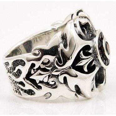 tattoo silver ring