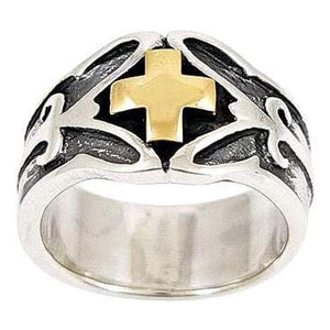 Oltin Celtic Cross Ring