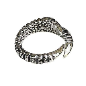 925 Sterling Silver Womens Gothic Claw Ring