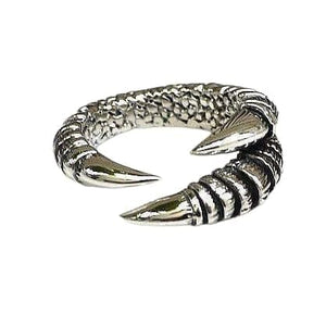 claw gothic rings for women