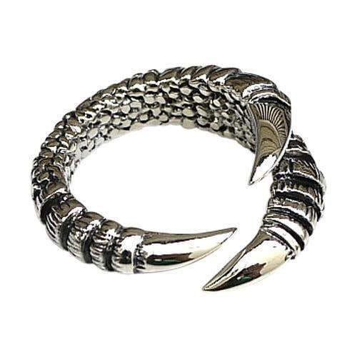 silver claw women's gothic ring