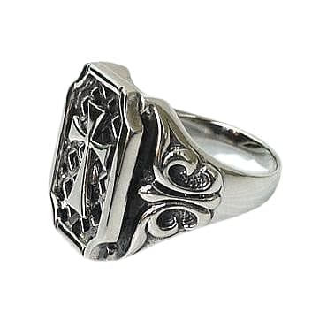 Gothic Cross Mens Ring