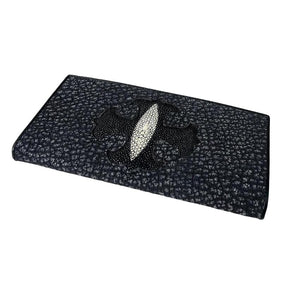 Gothic Cross Stingray Long Wallet