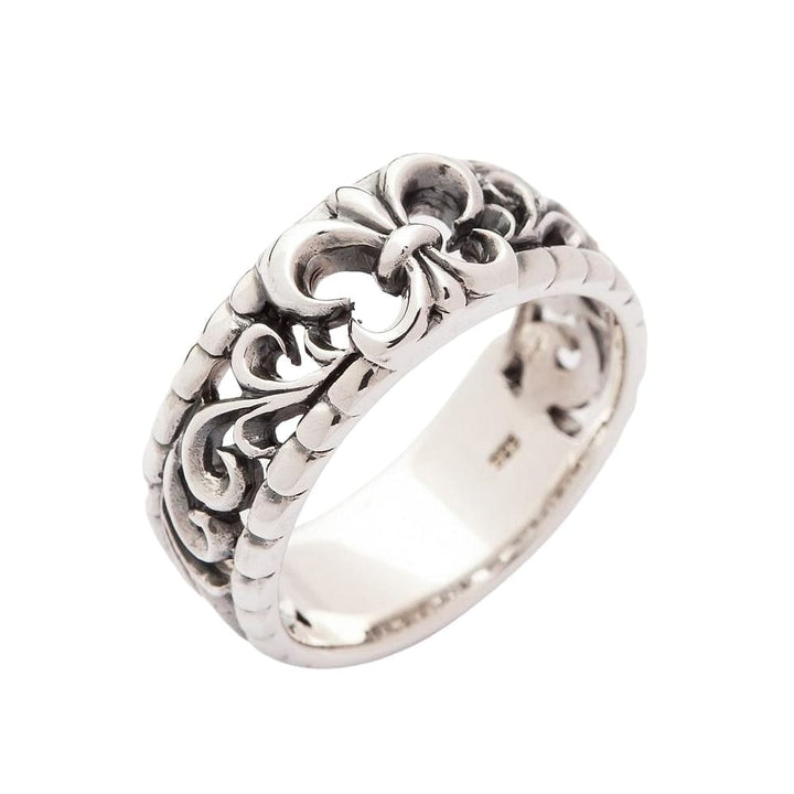 gothic band ring