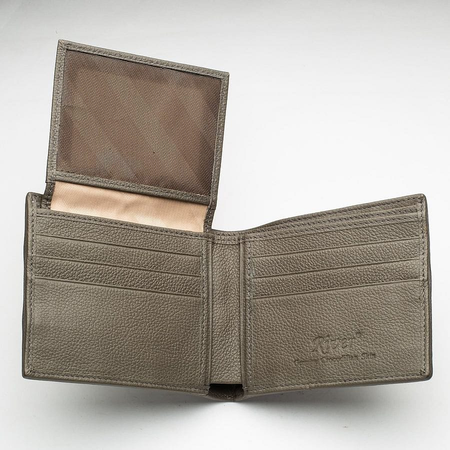 Grey Tail Skin Crocodile Wallets