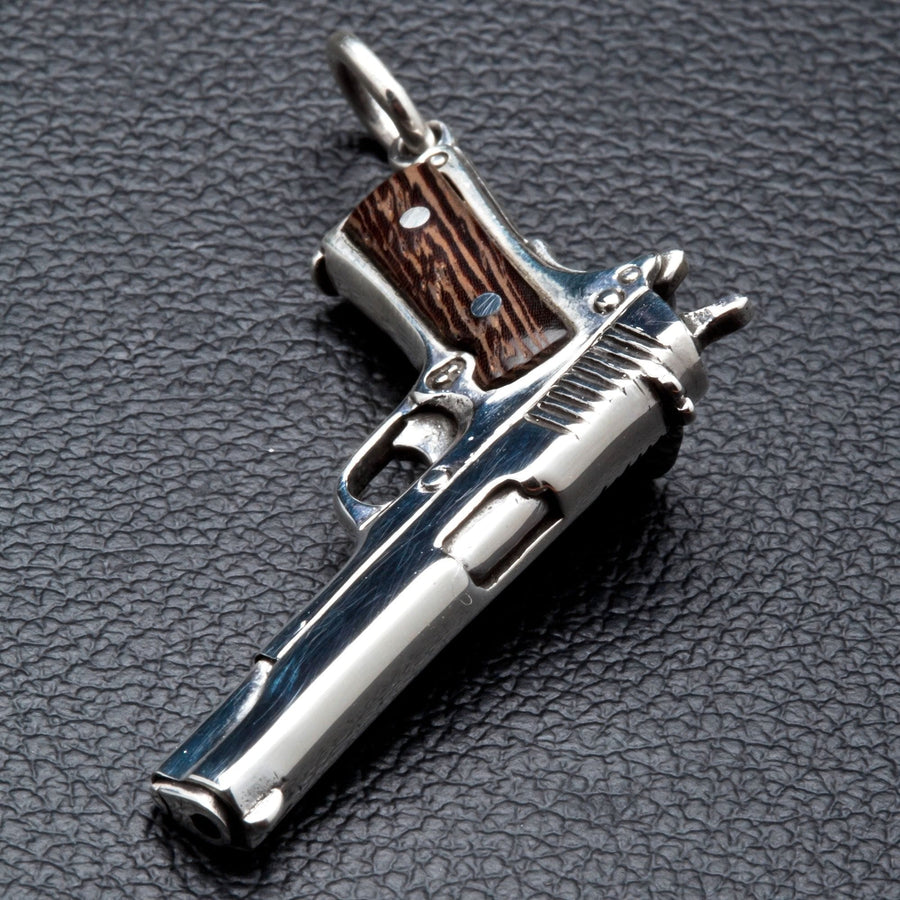 gun pendant for men
