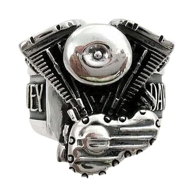 Biker Harley Engine Ring Jewelry
