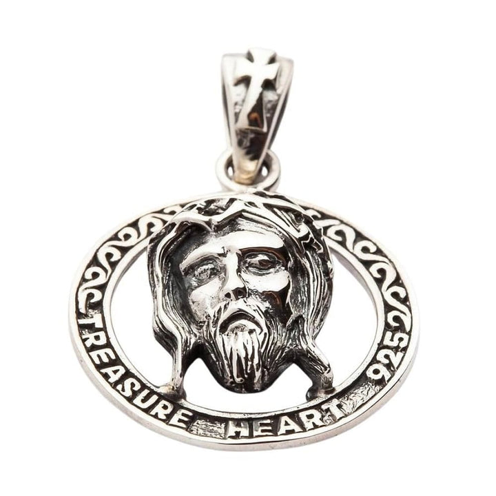 sterling silver liontin yesus