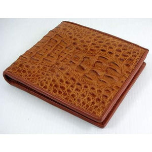 real crocodile leather wallet for men
