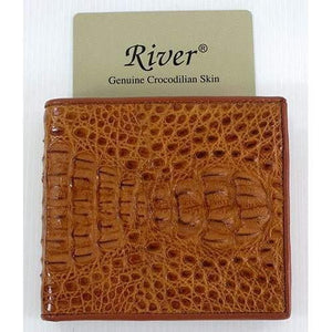Genuine Hornback Crocodile Wallet