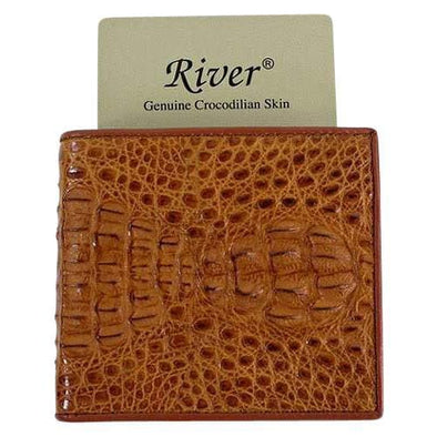 Hornback Crocodile Wallet
