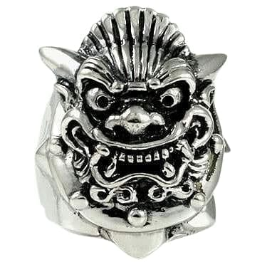 Japanese Mask Devil Ring