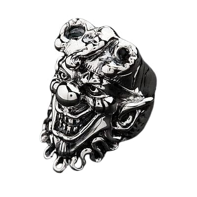 clown silver ring