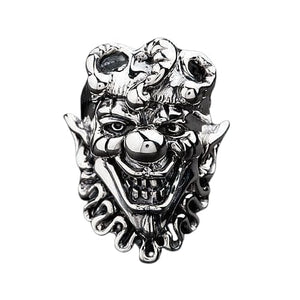 sterling silver joker ring