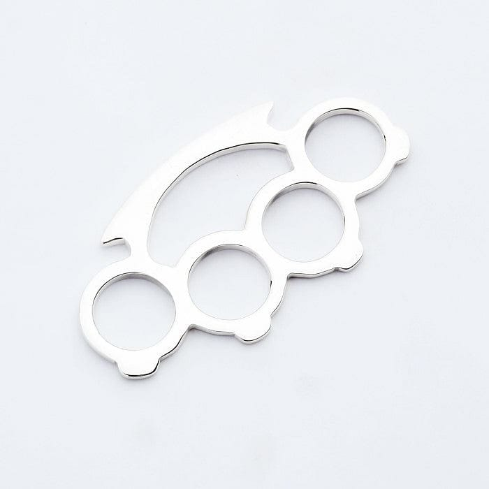 sterling silver knuckle duster pendant