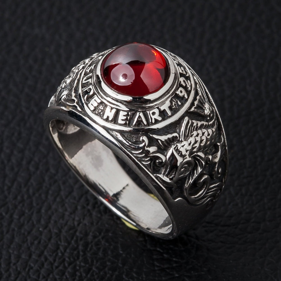 Koi Ruby Mens Ring