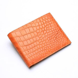 crocodile stomach wallet