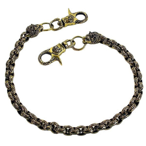 lion head solid chain chain