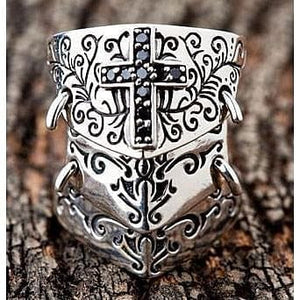 Warrior Medieval Armor Ring