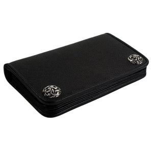 sterling silver snap wallet