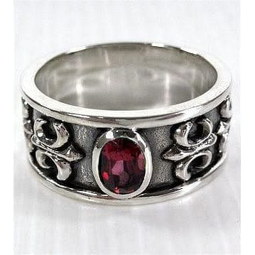 Mens Ruby Rings