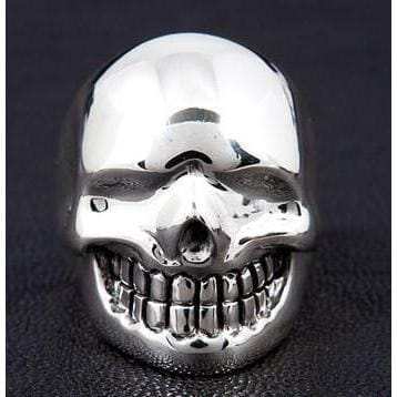 Metalic Skull Ring