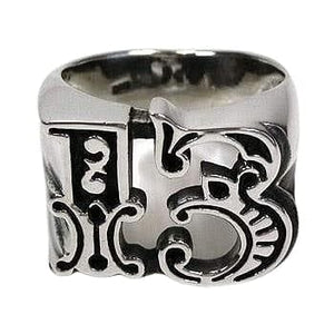 no 13 men's ring